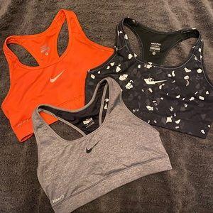 Nike Intimates & Sleepwear - EUC NIKE Sports bra bundle